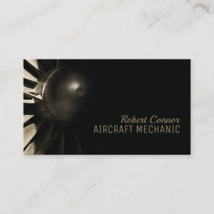 Birthday Gifts For Mechanic Boyfriend Inspirational Amazon Aircraft Airplane Engine Business Card
