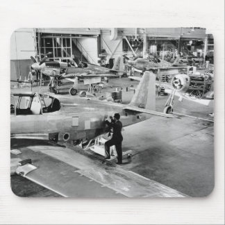 Airplane Factory: 1940 Mouse Pad