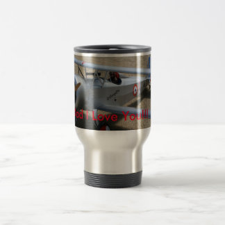 Airplane Father's Day Coffee Mug
