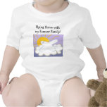 Airplane Flying Home Baby Bodysuits