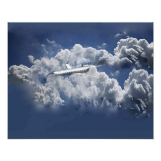 Airplane image poster