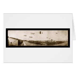 Airplane Indianapolis Photo 1910 Greeting Card
