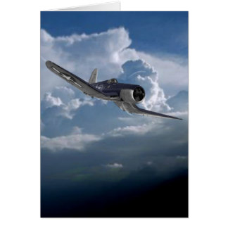 Airplane items card