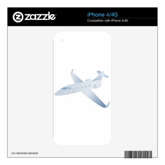 Airplane Jet Decals For iPhone 4S