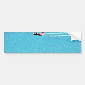 Airplane Jet Mig Car Bumper Sticker