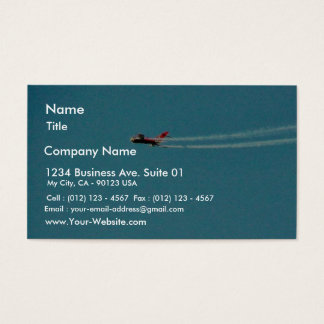 Airplane Jet Mig Business Card