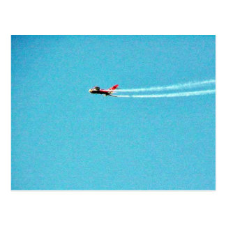 Airplane Jet Mig Post Card