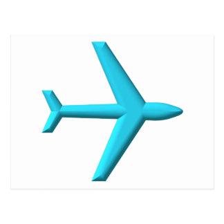 Airplane/Jet Postcard