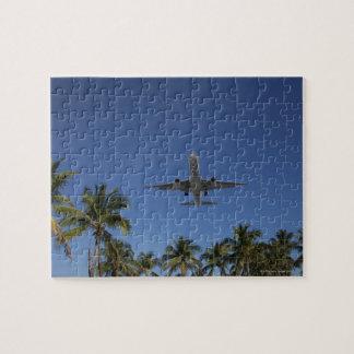 Airplane landing in Miami Puzzle