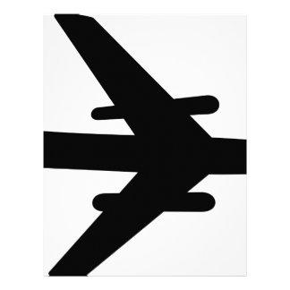 Airplane Letterhead
