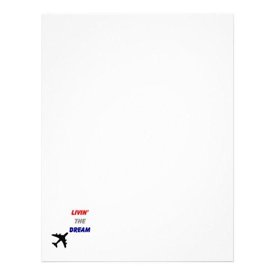 Airplane Letters Letterhead