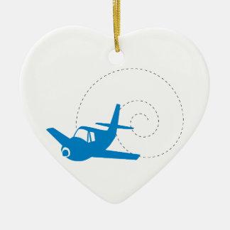 Airplane Loop Ornament