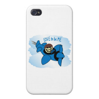 AIRPLANE - LOVE TO BE ME.png iPhone 4 Covers