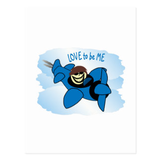 AIRPLANE - LOVE TO BE ME.png Post Card