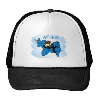 AIRPLANE - LOVE TO BE ME TRUCKER HAT