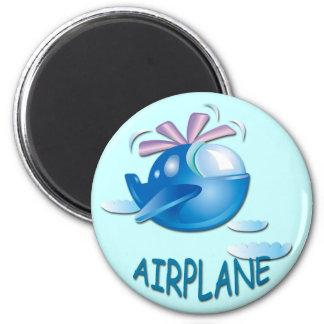 AIRPLANE REFRIGERATOR MAGNETS