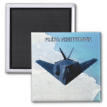AIRPLANE-MAGNET 2 INCH SQUARE MAGNET