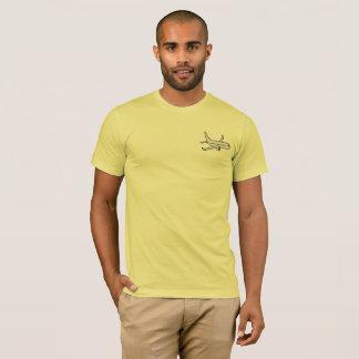 Airplane Men's Super Soft T-Shirt -Lemon Yellow