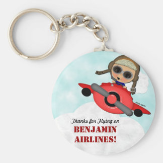 Airplane Party Key Chain Favors