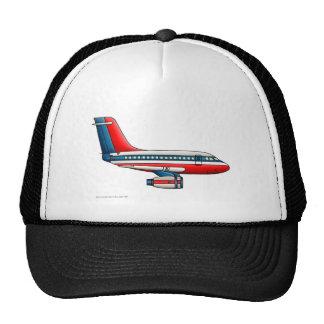 Airplane Passenger Jet Plane Hats Trucker Hats