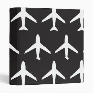 Airplane pattern binder
