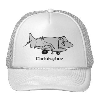 Airplane, Personalized Trucker Hat