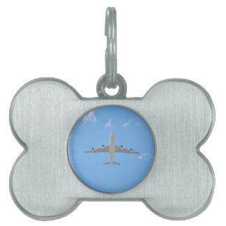 Airplane Pet Tag