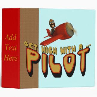 Airplane Pilot Avery Binder