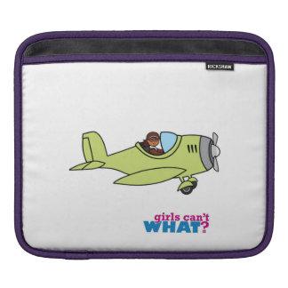 Airplane Pilot - Dark iPad Sleeves