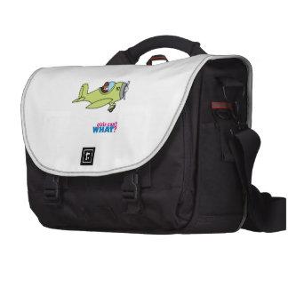 Airplane Pilot - Dark Laptop Messenger Bag