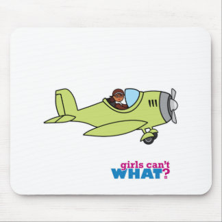 Airplane Pilot - Dark Mouse Pad