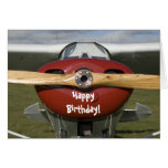 Airplane Pilot Happy Birthday Card at Zazzle
