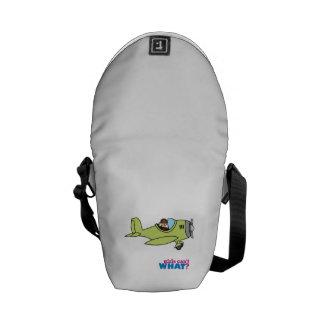 Airplane Pilot - Light/Blonde Messenger Bag
