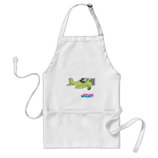 Airplane Pilot - Medium Adult Apron