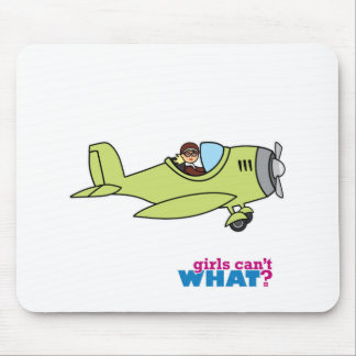 Airplane Pilot Mouse Pad