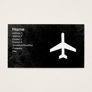Airplane Pilot or flight attendant business cards