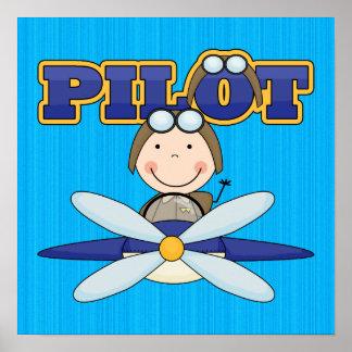 Airplane Pilot Poster