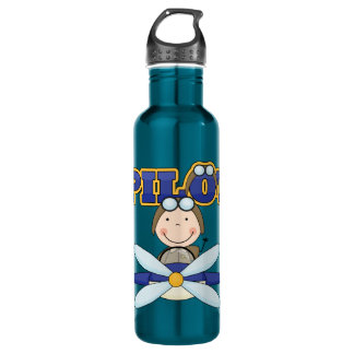 Airplane Pilot Sports Bottle