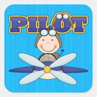 Airplane Pilot Stickers