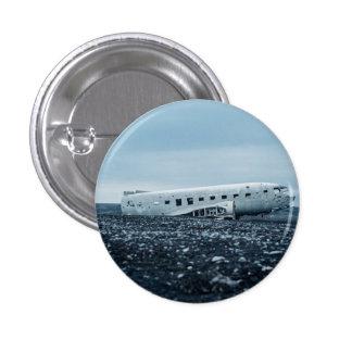 airplane pinback button