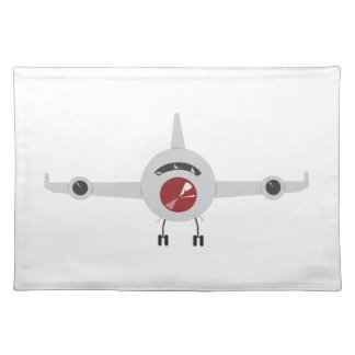 Airplane Cloth Place Mat