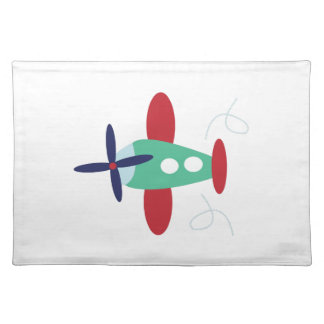 Airplane Cloth Placemat