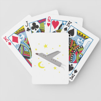 Airplane Bicycle Playing Cards