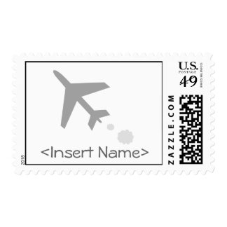 Airplane Postage Stamp