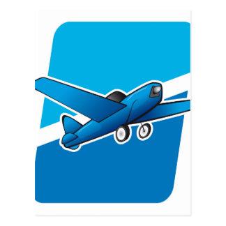 Airplane Postcard