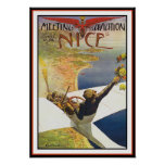 Airplane Poster/Print: Meeting d'Aviation