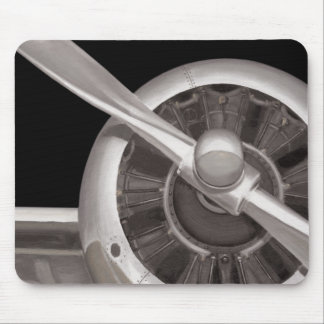 Airplane Propeller Closeup Mouse Pad