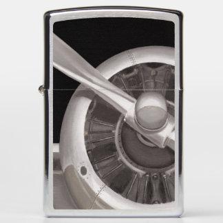 Airplane Propeller Closeup Zippo Lighter