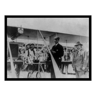 Airplane Race Winner Cal Rodgers 1911 Poster