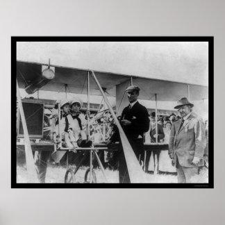 Airplane Race Winner Cal Rodgers 1911 Print